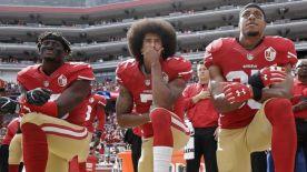 an NFL kneel
